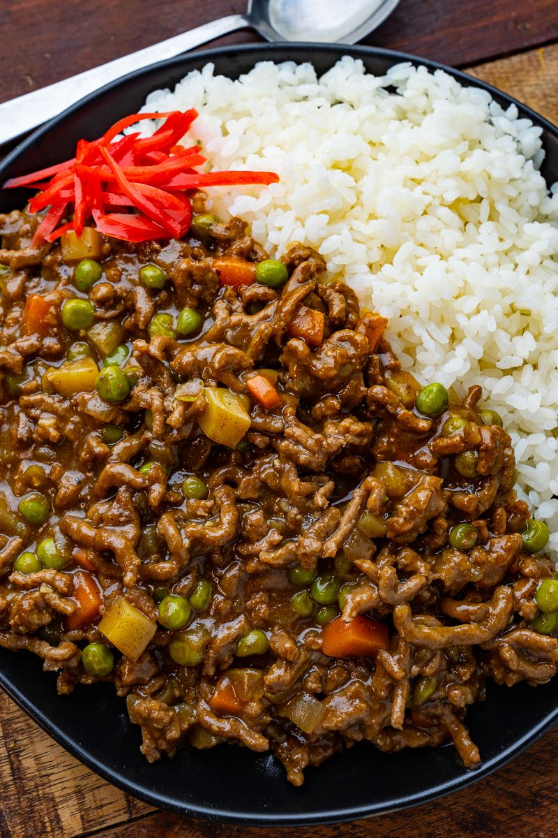 Japanese Dry Curry Recipe In 2020 Curry Food Recipes