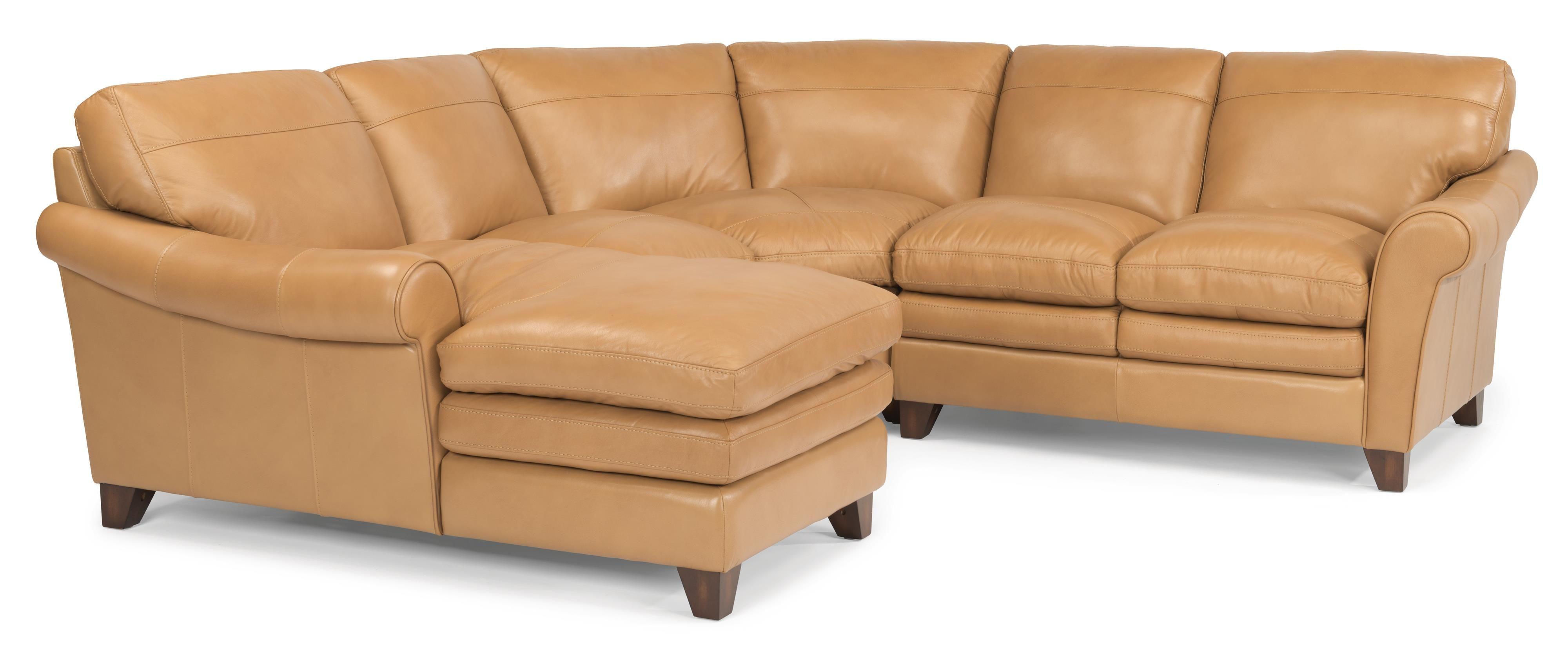 Latitudes Sofia 4 Pc Sectional Sofa by Flexsteel