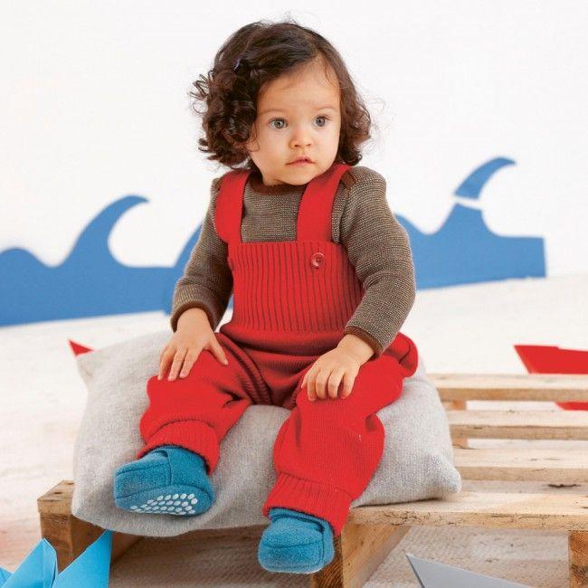 Disana Little Boys Dungarees//Trousers in Organic Boiled Merino Wool