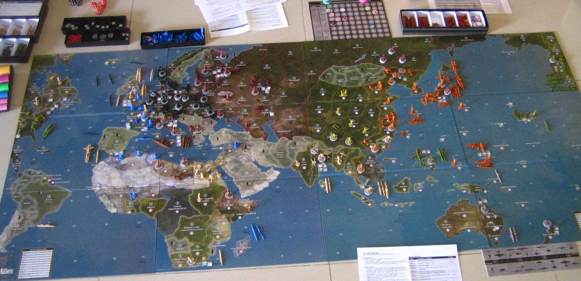 axis and allies pacific 1940 board game - Google Search
