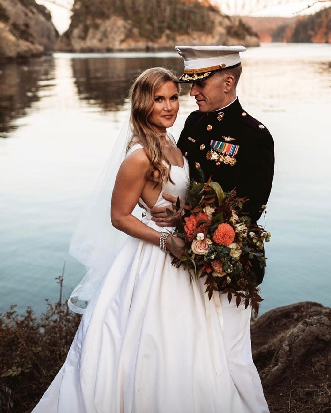 Wedding Hair Color Ideas: Deception Pass Elopement In Washington State