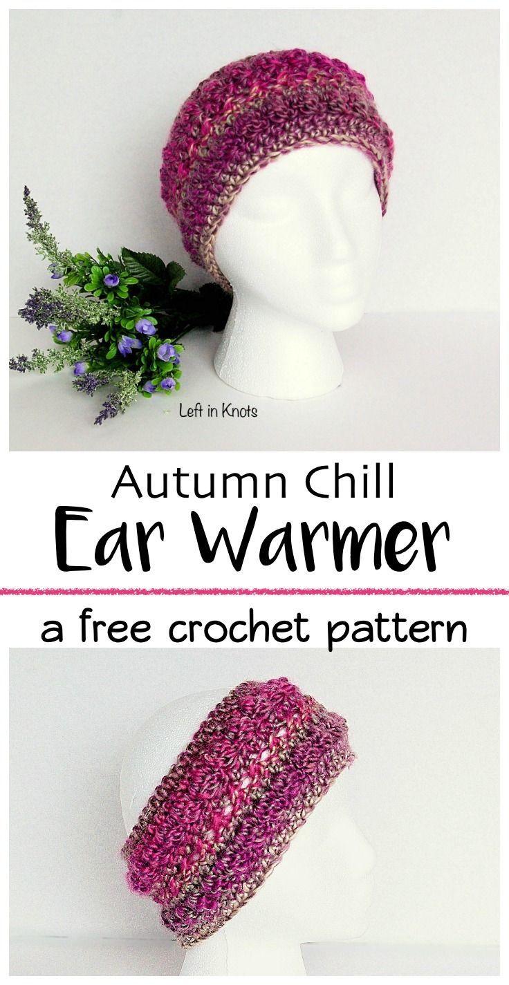 Autumn Chill Ear Warmer