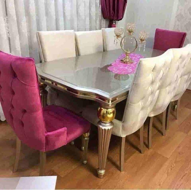 فكره للاثاث المودرن الكلاسيك Dining Table طاولة طعام ترابيزة سفرة مودرن اوض سفر Modern Dining Room Dining Table Modern Dining Table