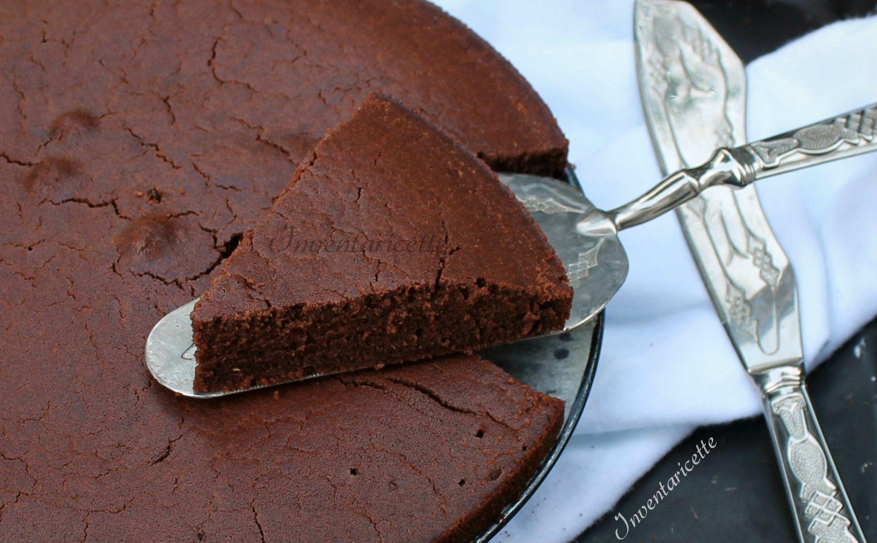 Dolci Senza Uova E Farina.Torta Al Cioccolato Con Farina Di Riso Senza Uova E Senza