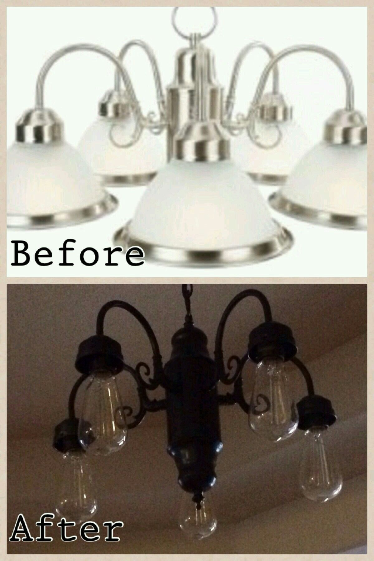 Pin by danni pappoulis on diy chandeliers pinterest diy chandelier diy chandelier arubaitofo Images