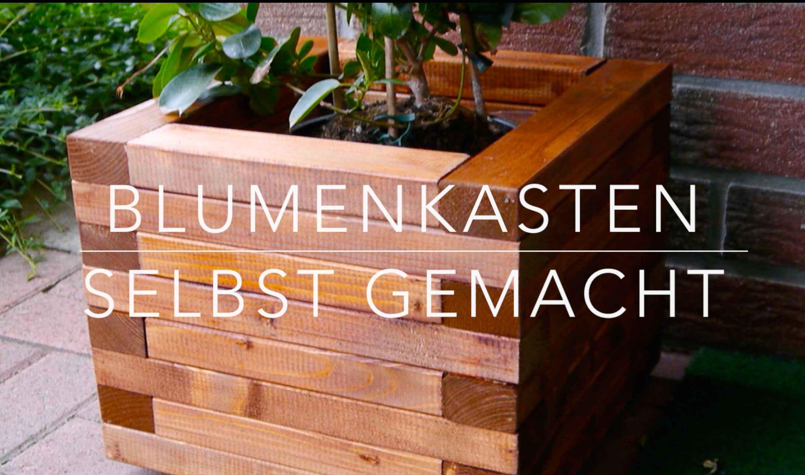 Diy Blumenkasten Aus Holz Kinderleicht Bauen Blumenkasten Selber