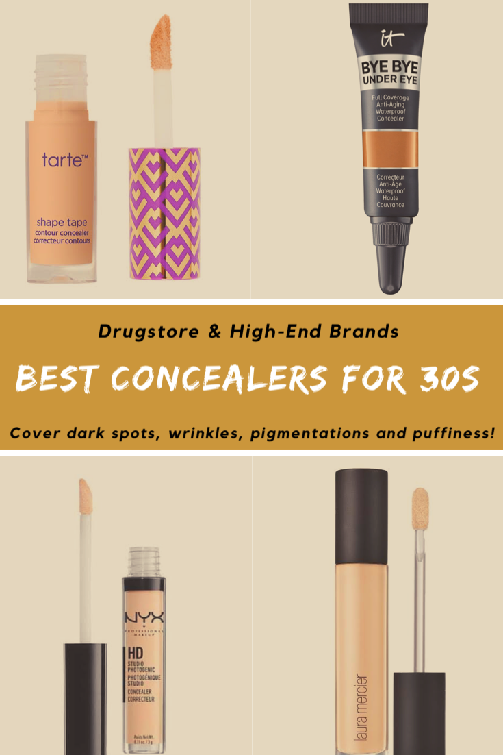 10 Best Concealers For 30s From Drugstore To High End