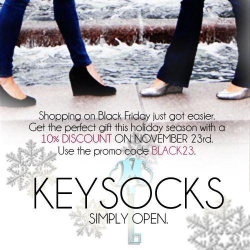 Keysocks, HOLIDAY 6 Pack Women's Bundle
