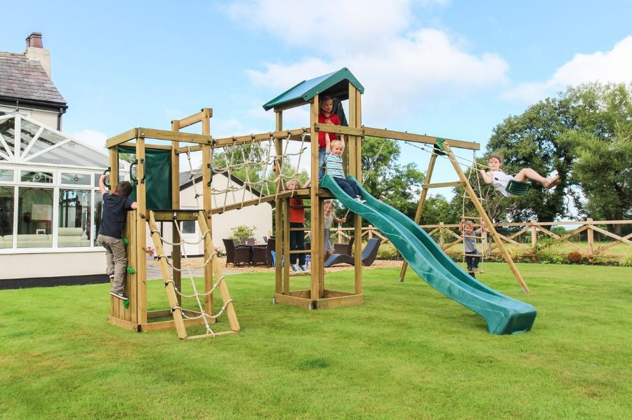 Orchard Climbing Frame has everything that your children would want ...