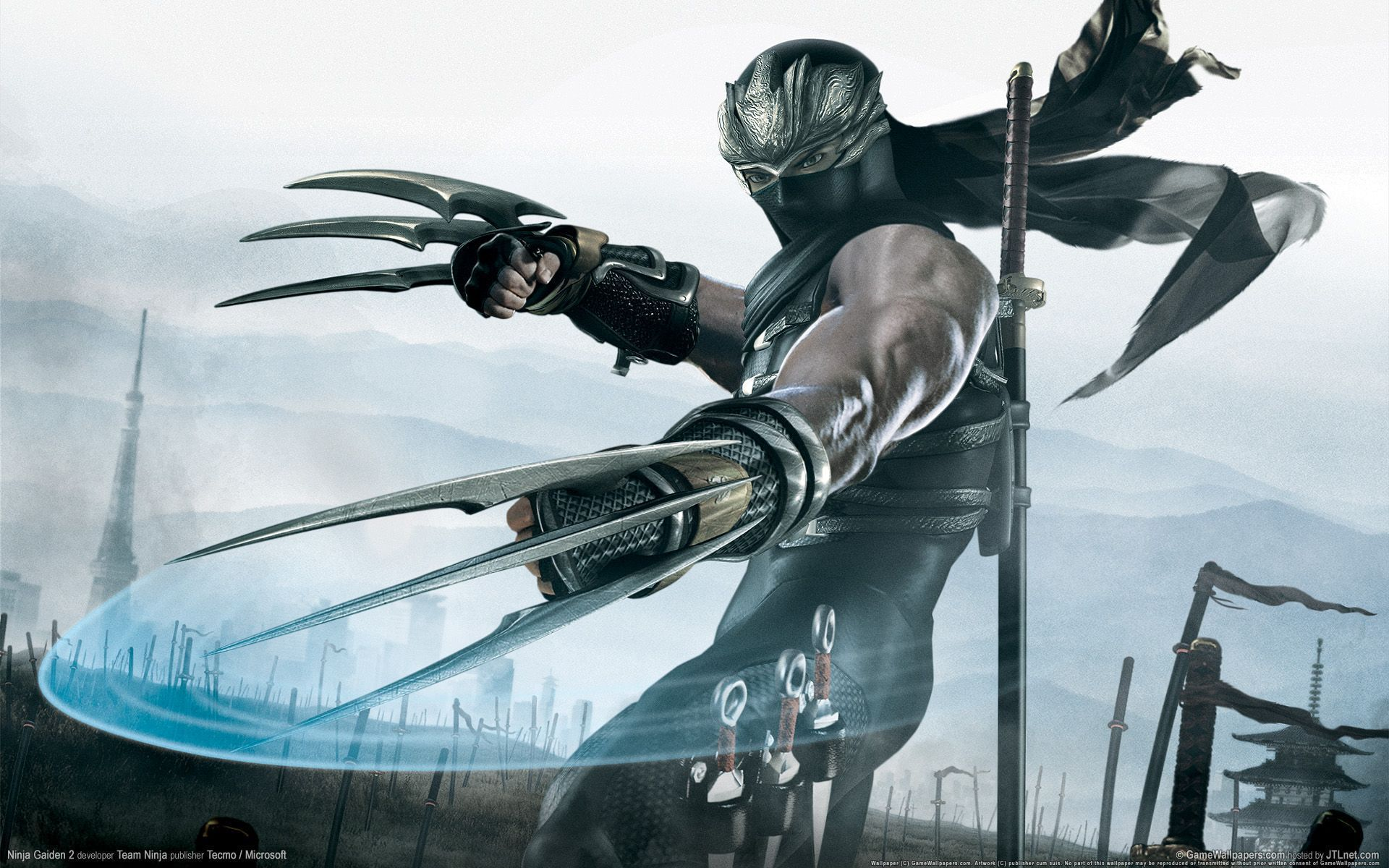 Pin By Joe On Video Games Ninja Gaiden Gaming Wallpapers Ninja Wallpaper