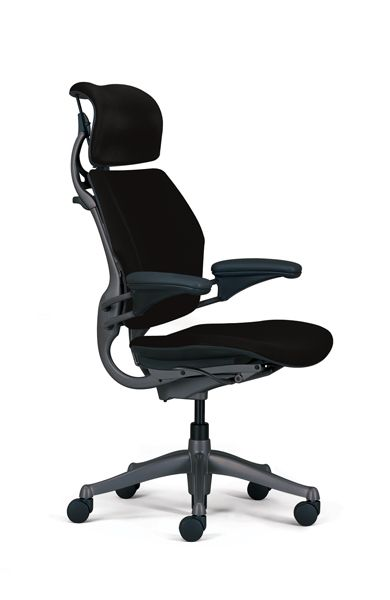 Freedom Task Chair With Headrest Ergonomic Seating From Humanscale Best Office Chair Ergonomic Chair Computer Chair