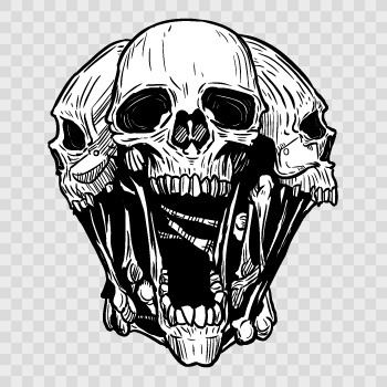 Explore graphic art decal and more skulls sticker decal