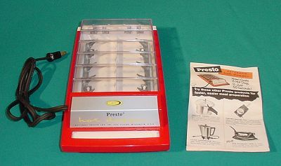 Presto Hot Dogger Electrocutes Hot Dogs To Cook Them My Neighbor Had This When I Was A Kid Hot Dogs Electricity Hot
