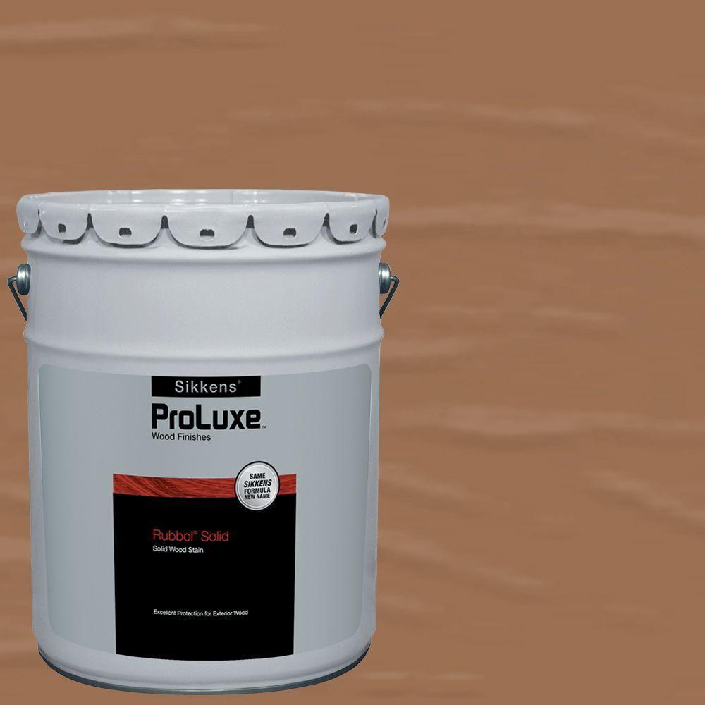 PPG ProLuxe 5-gal  #HDGSIK710-156 Cedar Rubbol Solid Wood