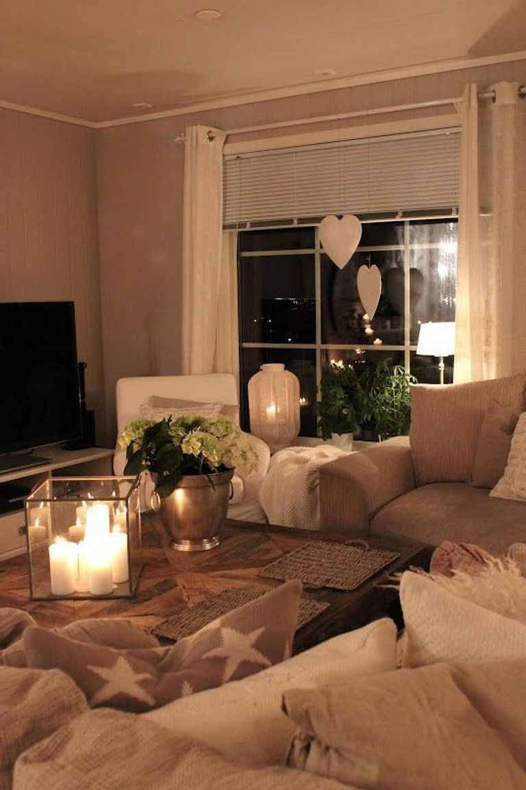 Cozy Romantic Living Room: 25+ Awesome Decorating Ideas To Make Your Home Cozy For