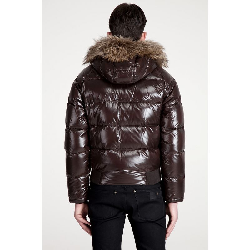 Moncler Bulgarie Men Down Jackets Top Quality Short Brown #winter #brown  #jackedts