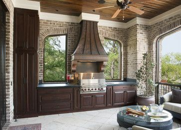 Porch range hood vent cover design pictures remodel decor and ideas page 3 outdoor spaces for Outdoor kitchen hood designs