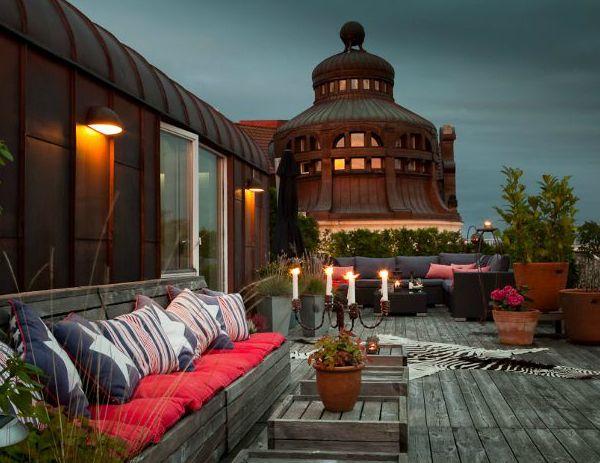 Rooftop terrace interior design balconies patios & outdoor areas