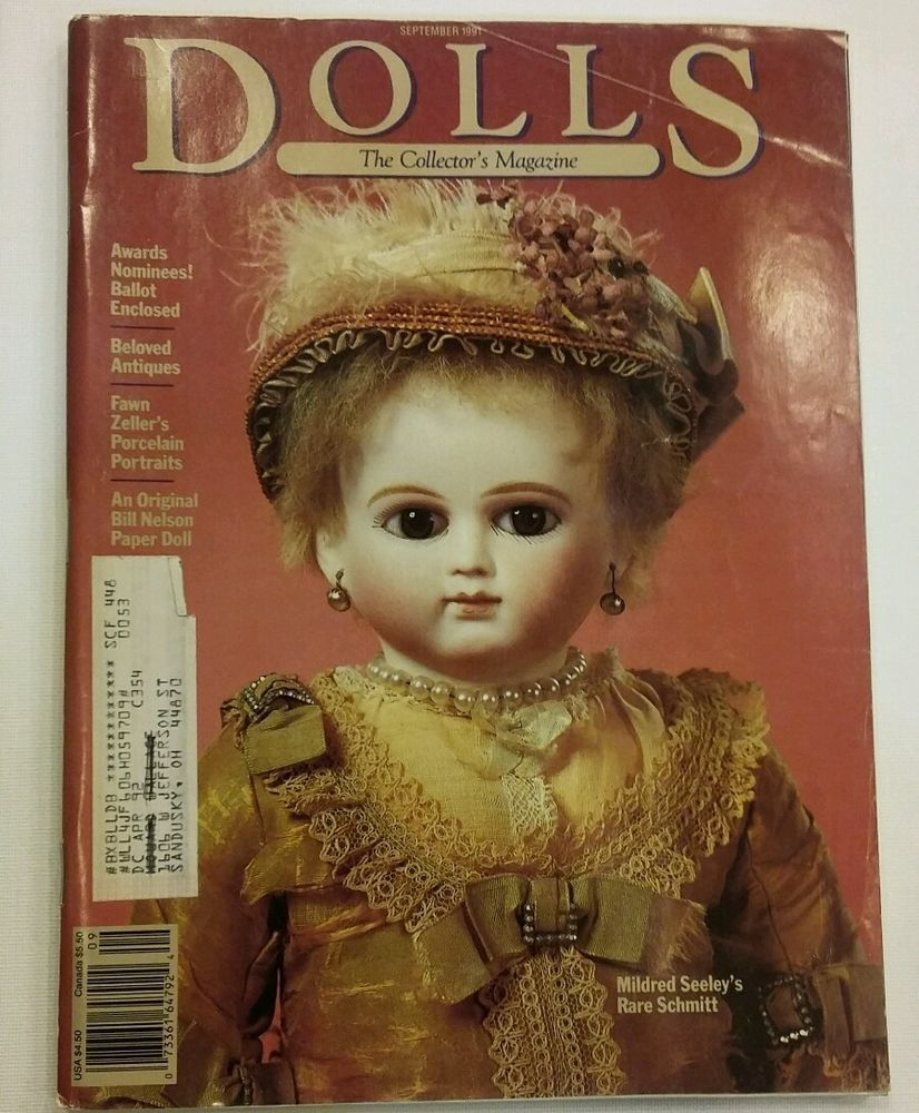 Dolls The Collector's Magazine Vintage Sept. 91 Excellent Condition  #DollsCollector