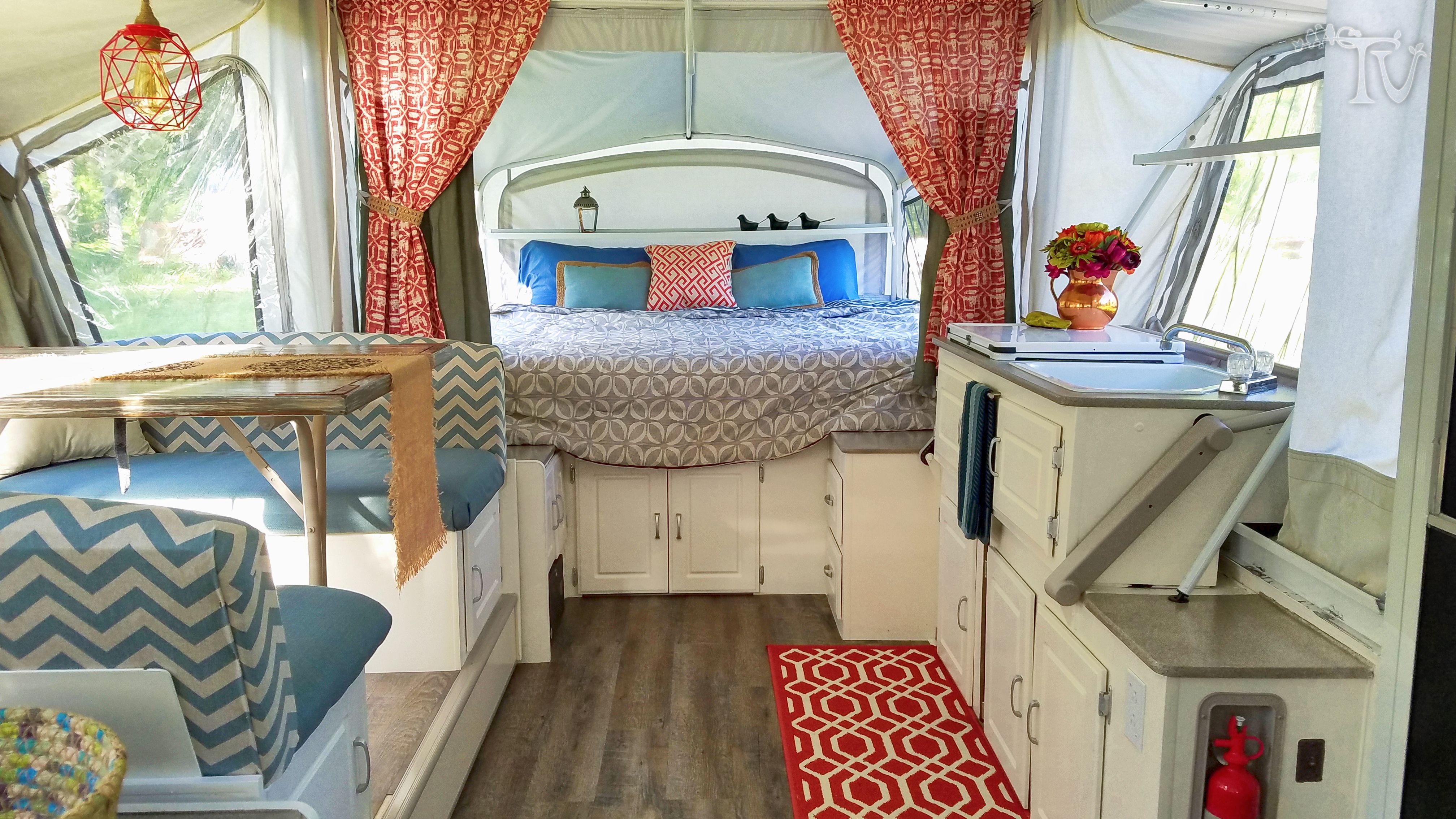 Inspiring Garage Workshop Home Decor Ideas Pop Up Camper