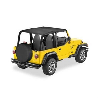 Bestop Safari Header Bikini Top Black Denim 97 02 Wrangler Tj Rock Solid Off Road Jeep Wrangler Tj Jeep Bikini Top Jeep