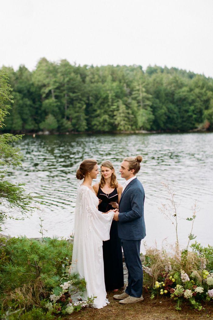 Adirondack Styled Shoot Small intimate wedding
