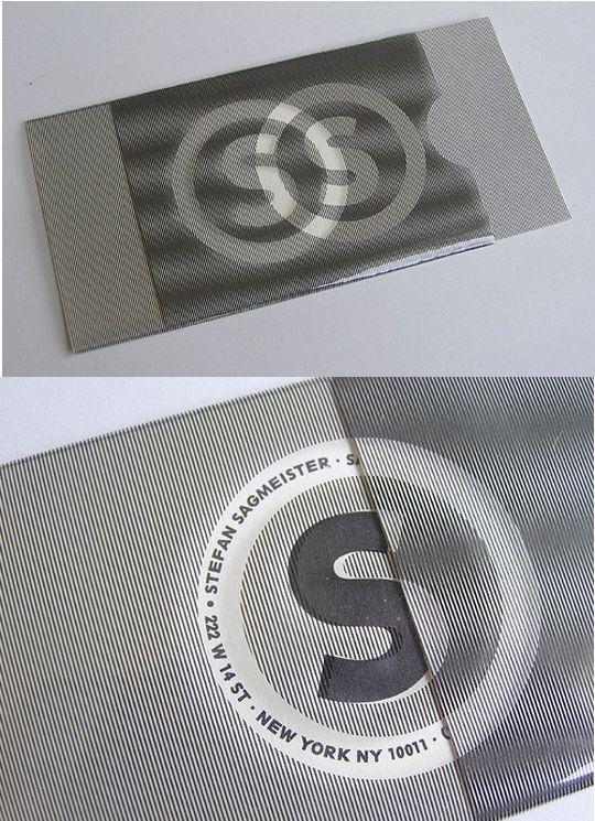 Business card illusion lenticular stefan sagmeister design business card illusion lenticular stefan sagmeister colourmoves