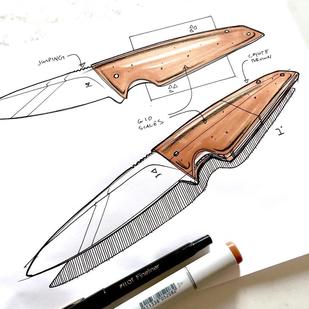 The subtleties in blade design are mesmerizing to me. Id love the chance to design one of these…