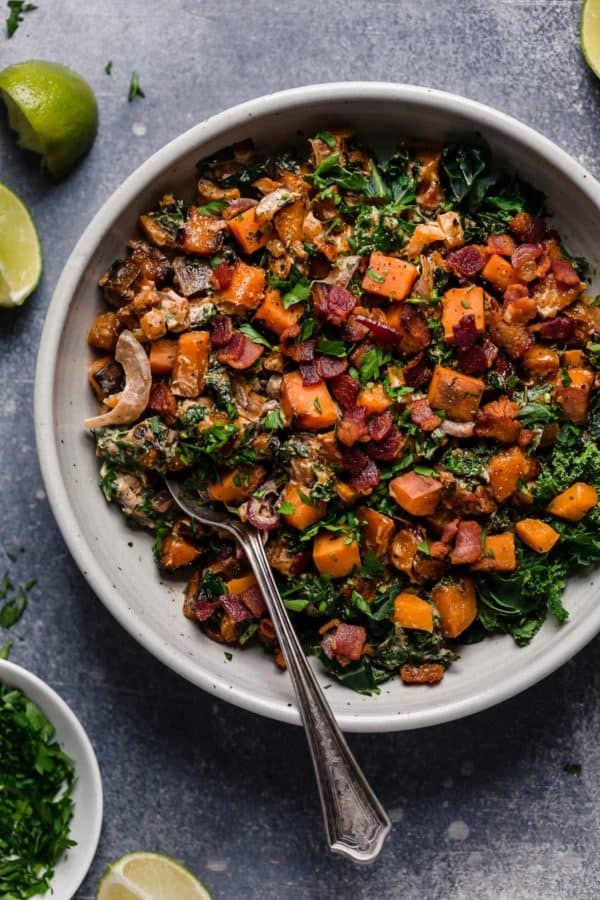Warm Chipotle Lime Sweet Potato Salad Recipe Salad With Sweet