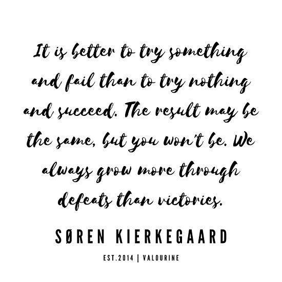 21    | Søren Kierkegaard Quotes | 190523 Poster by QuotesGalore