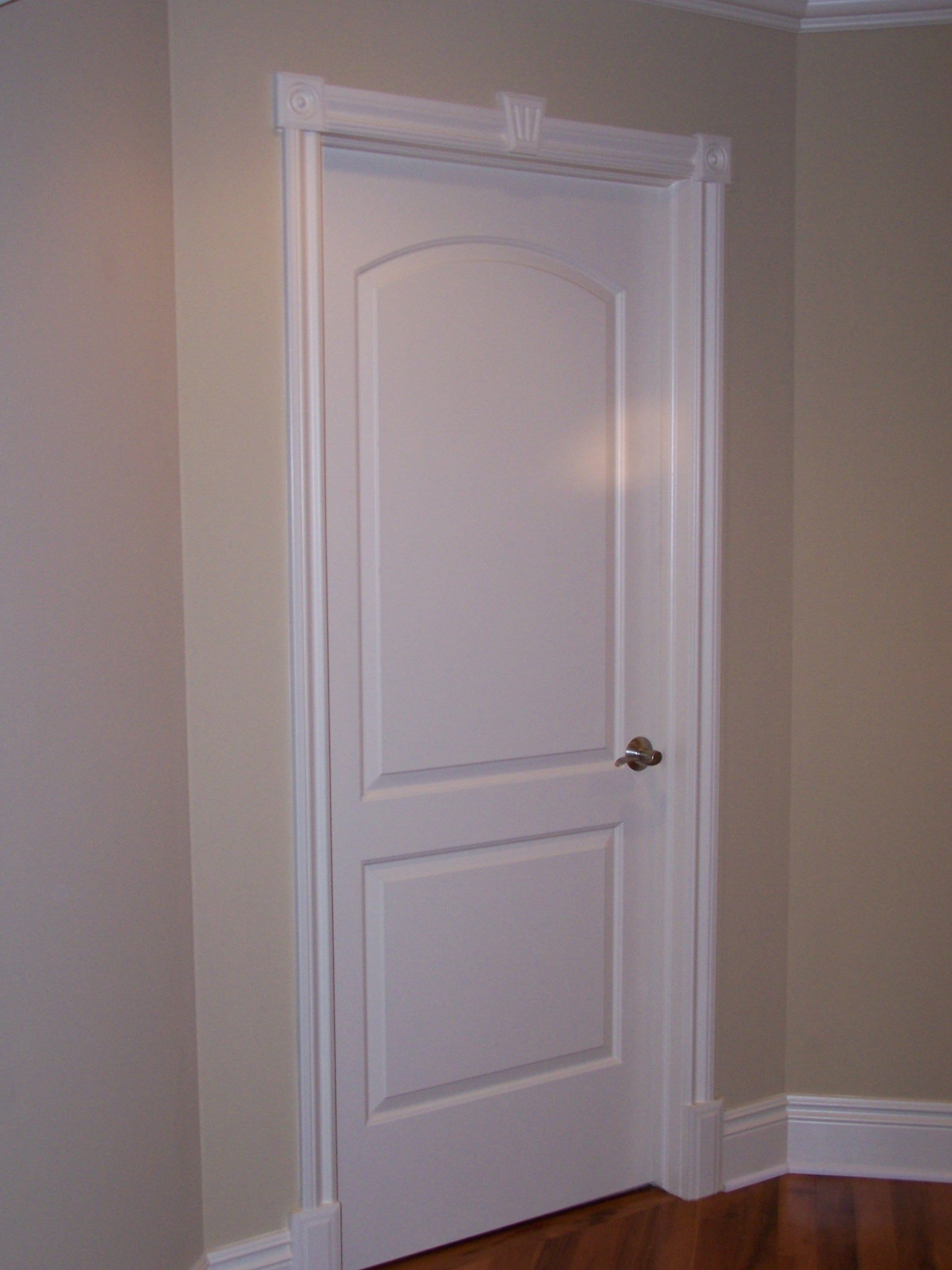Decorative door trim for the home pinterest door for Unique interior door ideas