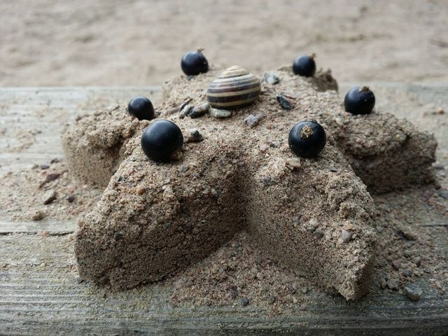 'Sand cake' by fredrikboberg