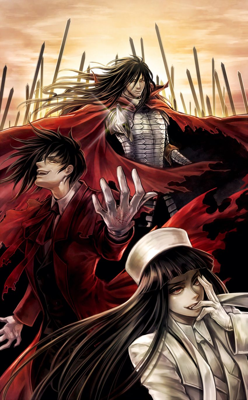 Alucard | Hellsing | Pinterest | Hellsing alucard, Anime and Manga