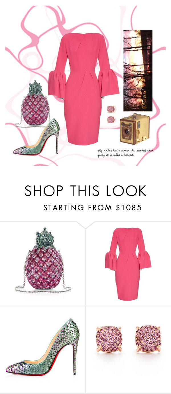 """""""A Picture Perfect Night On The Town"""" by sandjpopescu ❤ liked on Polyvore featuring Judith Leiber, Roksanda and Tiffany & Co."""