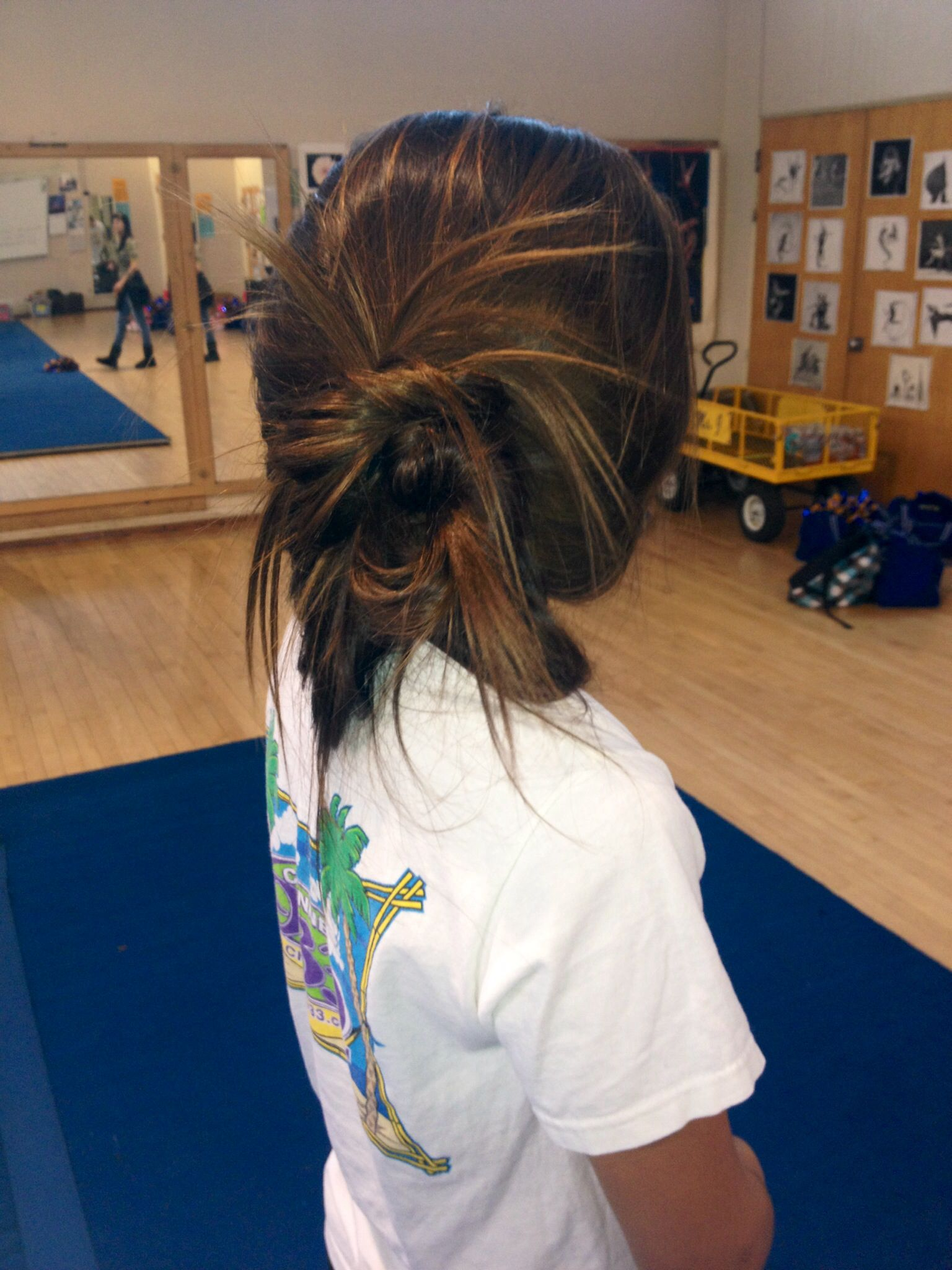 perfect hair for cheer practice | hair | pinterest | cheer