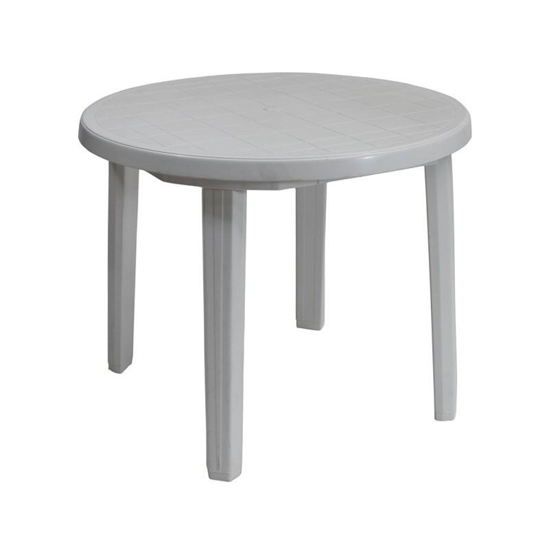 Garden Furniture Tables plastic patio table - a white plastic garden furniture set that