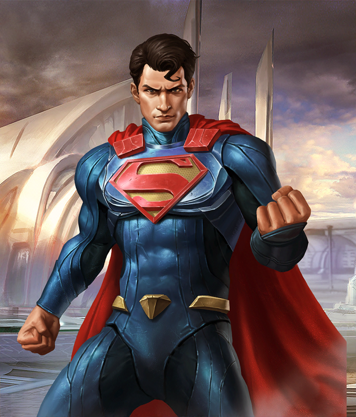 Injustice 2 Mobile Roster Superman Art Dc Comics Heroes Dc Comics Superman