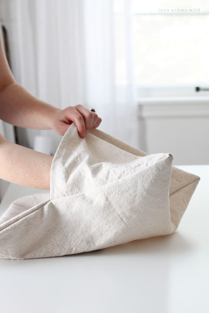Envelope Pillow Cover Tutorial Diy Pillows Sewing