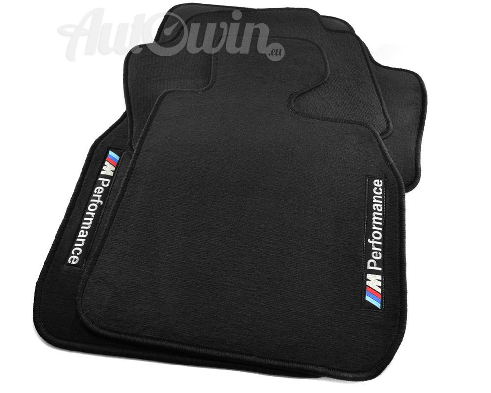 Bmw 5 Series E60 E61 Lci Black Floor Mats With M Performance Tailored 2003 10