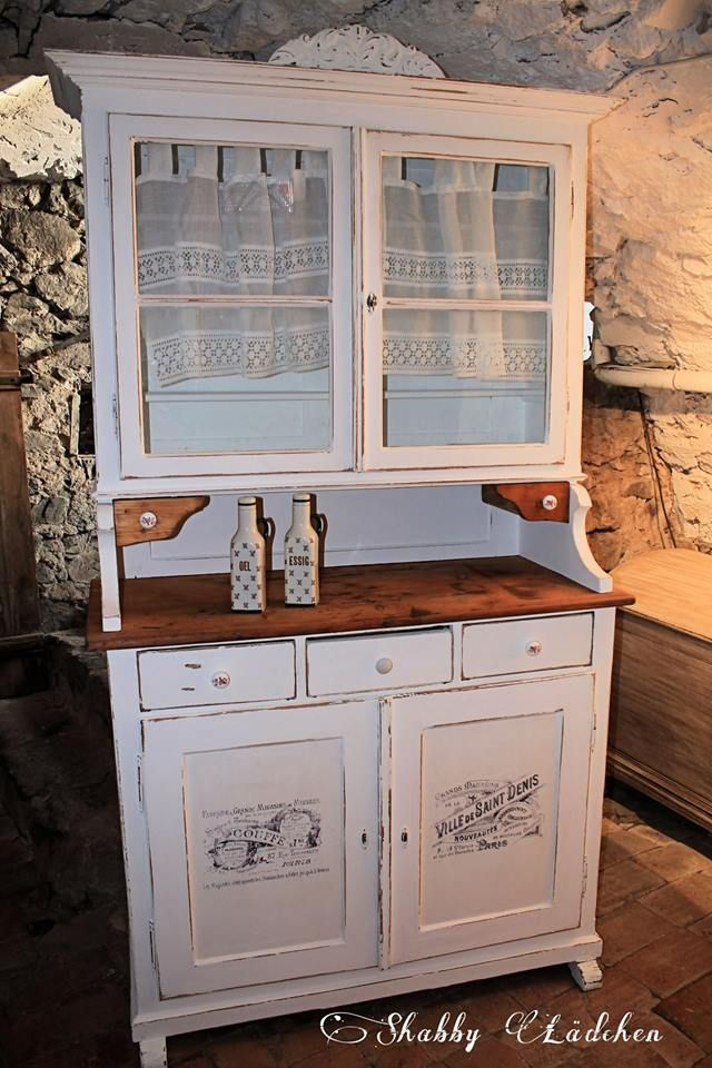 Antikes Shabby Küchen Buffet. https://www.facebook.com/pages/Shabby ...