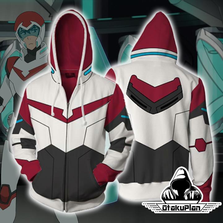 Keith Voltron Legendary Defender Paladin Hoodie Jacket