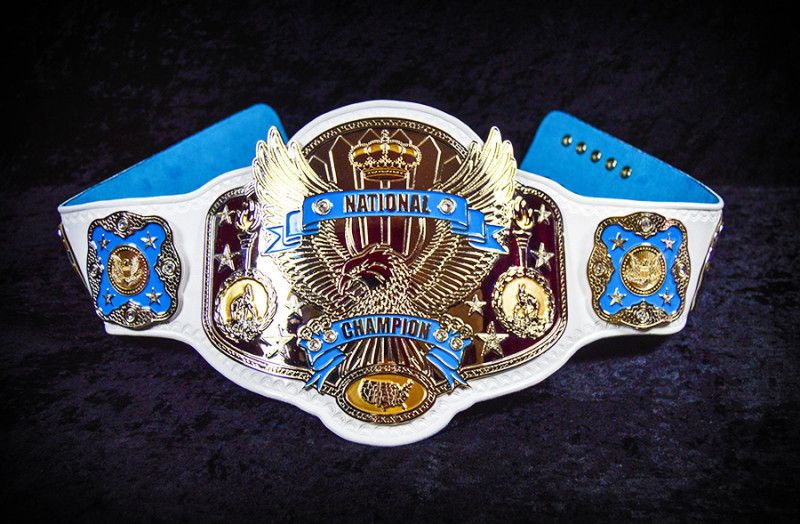 Image result for national championship belt wrestling
