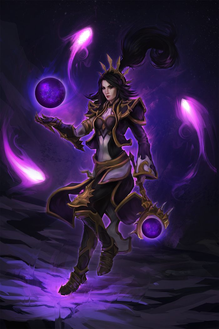 Li Ming Heroes Of The Storm Character Art Medieval Fantasy