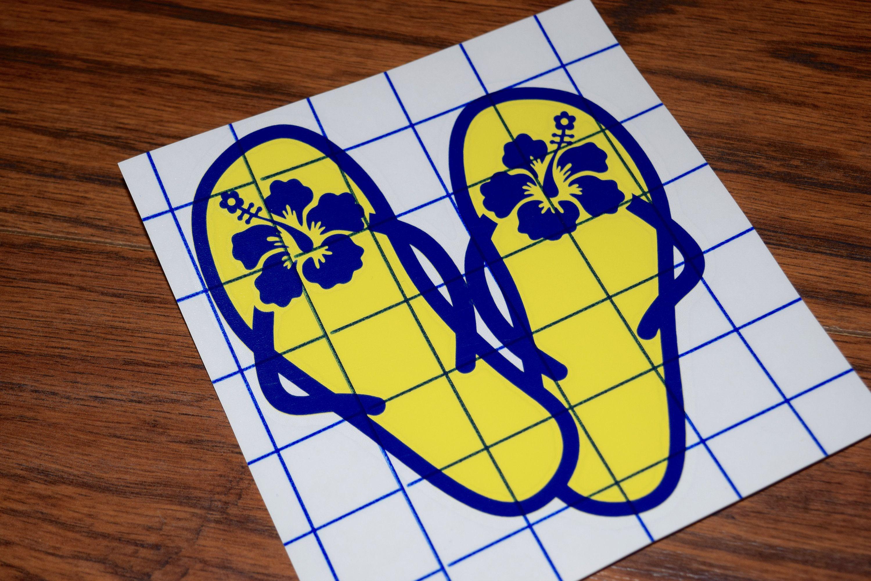 Flip flop decal flip flop sticker sandal decal hibiscus decal flip flop decal flip flop sticker sandal decal hibiscus decal hawaiian decal izmirmasajfo