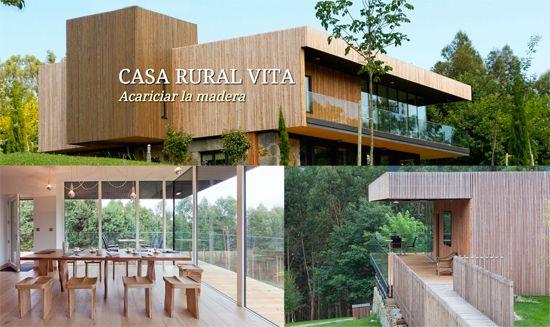 Casa rural vita ecol gica sostenible e integrada en la - Casas rurales ecologicas ...