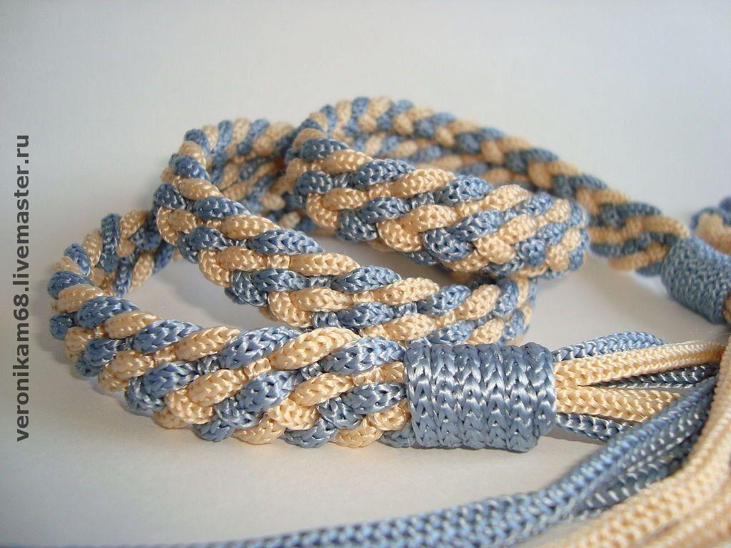Плетеный ремень своими руками фото 458