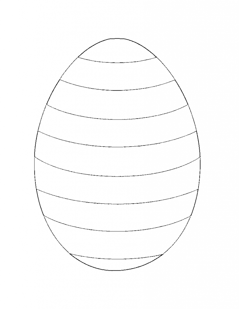 Free printable coloring pages of easter eggs - Grab These Free Printable Easter Coloring Pages From Whatmommydoes And Celebrate The Holiday Perfect As Craft Templates Outlines Too Striped Easter Egg
