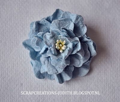 Blog Tutorial On How To Make These Beautiful Flowers Using Mulberry