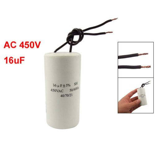 Sodialr Cbb60 Ac 450v 16uf Wired Motor Run Start Sh Capacitor 5060hz Check Out The Image By Visiting The Link Air Conditioner Accessories Capacitor Sodial