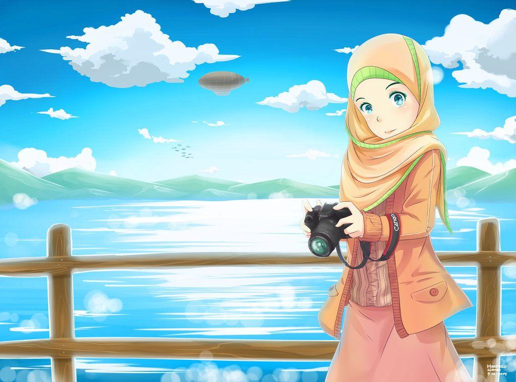 hijab Canon 3 by hakimizu on DeviantArt Kartun, Animasi
